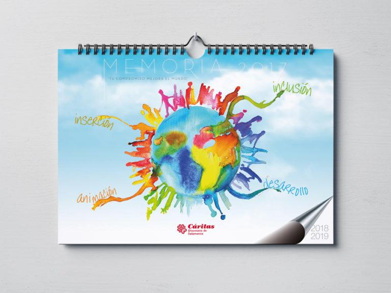 Calendario Memoria Cáritas Salamanca